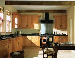 kitchen stunning kitchen colors with wood cabinets oak gallery