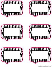 pink and zebra templates free free printable pink zebra birthday