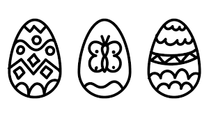 free easter egg coloring pages easter egg design coloring pages