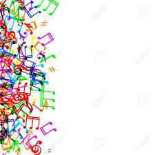 music note border clipartion com