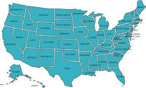 usa map states new us states highways map