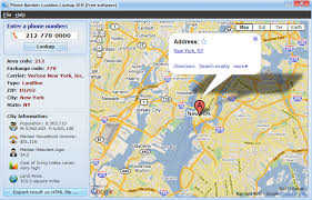 find location of phone number on map phone number location lookup 2011