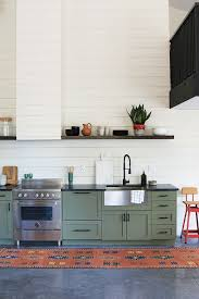 Cabin Kitchen Cabinets Best 20 Green Cabinets Ideas On Pinterest Green Kitchen