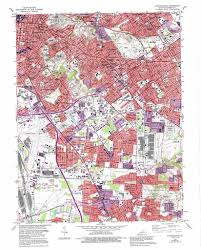 Map Of Louisville Ky Louisville East Topographic Map Ky Usgs Topo Quad 38085b6