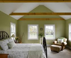mossy green walls with exposed beams ideas for the new house