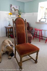 Ring Pull Dining Chair How To Reupholster A Dining Chair Four Generations One Roof