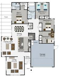 house plans for builders tempo 4 bedroom house plan landmark homes builders nz lake