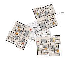 Architectural Plans For Homes Gallery Of University Of Southern Denmark Student Housing Winning