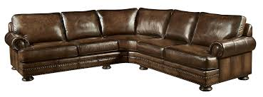 Brown Leather Sofa And Loveseat with Bernhardt Foster 2 Piece Leather Sectional Weir U0027s Furniture