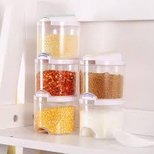 boites cuisine 5 pcs ensemble creative transparent assaisonnement boites cuisine