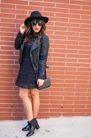 how to wear a skater dress with black chelsea boots women u0027s fashion