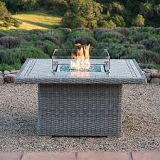 round propane fire pit table fire pit costco