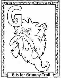 dora cartoon s alphabet g for grumpyded7 coloring pages printable