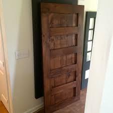 Richard Wilcox Barn Door Hardware by Custom Made Sliding Barn Door 5 Panel By Rusticluxeboutique