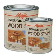 interior wood stain majic paints