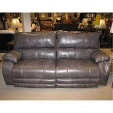 sofa king direct reclining sofa w power 64271 sheridan grey furniture factory direct