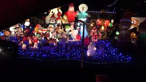 christmas lights springfield mo springfield mo bagwell christmas light display youtube