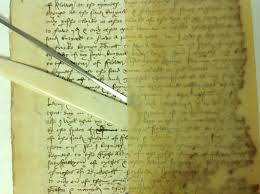 tudor writing paper uncategorized northamptonshire archives early wills project blisters appearing between the glassine and the tudor substrate
