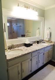 Frames For Mirrors In Bathrooms by Love This Chunky Mirror Bathroom Ideas Pinterest Bathroom