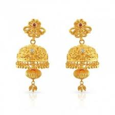 kerala style jhumka earrings jhumkas kerala christian malabar gold jimiki malabar gold and