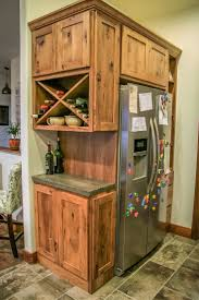 Kitchen Fridge Cabinet Best 25 Refrigerator Cabinet Ideas On Pinterest Kitchen