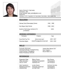 resume draft sample some resume like example resume template resume format sample resume format examples resume format examples college student best resume resume format exampleshtml sample of