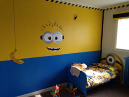 Yellow Feature Wall Bedroom Best 20 Minion Bedroom Ideas On Pinterest Despicable Me Bedroom