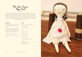 Doll Design Book | the making of a rag doll design sew modern heirlooms jess brown