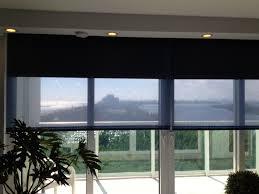 decorations simple black blue transparent privacy window screen