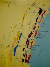 Florida East Coast Beaches Map by The Georgia Coast Atlas Lost Barrier Islands Of Georgia