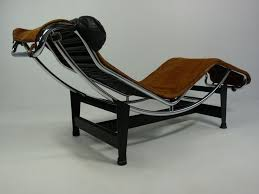 lc4 chaise longue by le corbusier mfg by cassina at 1stdibs