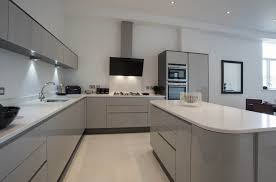 handle less kitchen u2013 acrylic grey metallic u2013 panorama kitchens