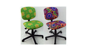chair seat covers office chair covers stretchable slipcovers logo chair cover