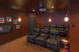 Custom Home Theater Seating Man Cave Home Theater Hidden Speakers Theater Seats Projection