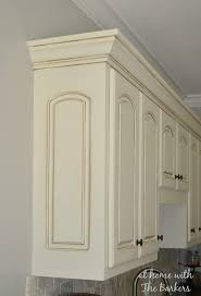 Polyurethane Cabinet Doors How To Glaze Cabinets At Home With The Barkers