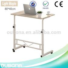 portable computer table steel tubes laptop stand pc desk with