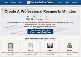 Professional Resume Builder Online by 15 Free Résumé Builder Popular Sites To Create Professional Cv U0027s