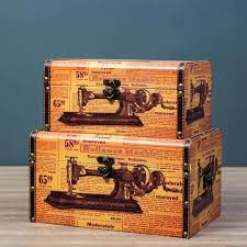 Buy vintage storage boxes online Living room decor