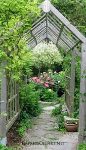 how to build an arbor trellis 257 best garden fences arbors u0026 walls images on pinterest