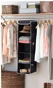 Closet Accessories Amazon Com Zober 5 Shelf Hanging Closet Organizer 6 Side Mesh