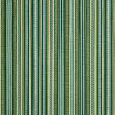 teal and lime green striped upholstery fabric modern aqua blue