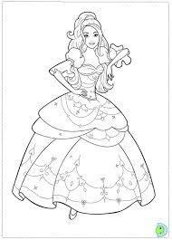 coloring excellent barbie drawing pics cartoon sketch