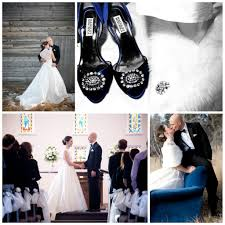 wedding shoes navy more real brides in by badgley mischka wedding shoes it s