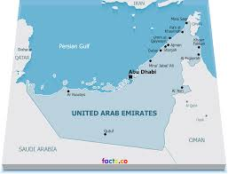 uae map uae political map major tourist attractions maps