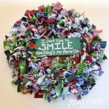 handmade wreath ideas colful wreath craft ideas