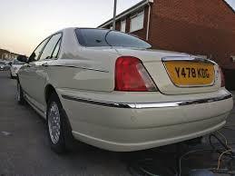 rover 75 2 5 v6 in rare white colour in newport gumtree