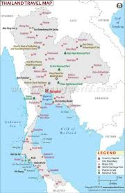Map Of Thailand Map Of Thailand And Islands Thailand Islands Map Detailed South