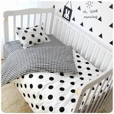 Cot Bedding Set Cotton Baby Cot Bedding Set 6pcs Newborn Crib Bedding