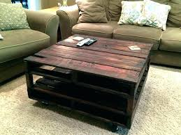 tables made from pallets coffee table made from wood pallets devangbhuva me