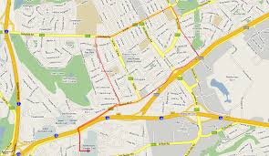 Map Running Routes by Running Routes Bedfordview Athletics